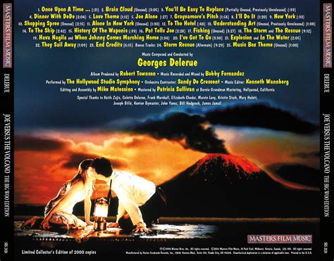 joe versus the volcano original motion picture soundtrack