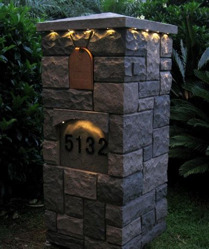 outdoor lighting ideas for curb appeal creative columns