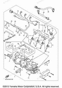 Yamaha Motorcycle 2006 Oem Parts Diagram For Intake 2