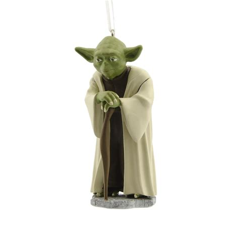star wars yoda christmas ornament seasonal christmas
