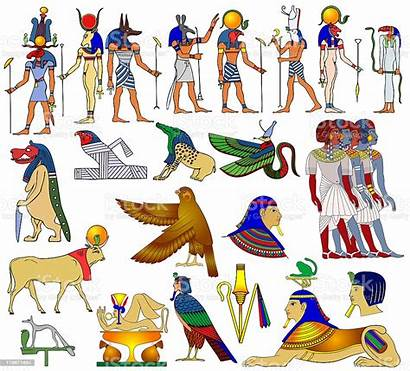 Gods Ancient Egypt Animals Africa Various Themes