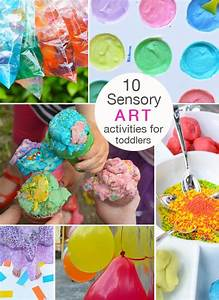 10 Beautiful and Engaging Sensory Art Activities for ...