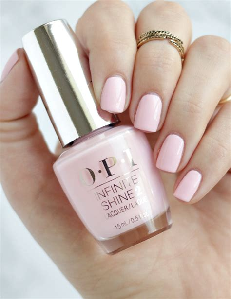 opi light pink opi pretty pink preserves thirteen thoughts