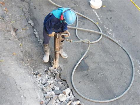 philippines sidecar motorcycle jackhammer hammer