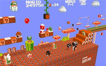 Geek Mario Nintendo Wallpapers Nes Awesome 3d