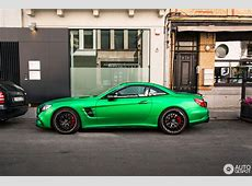 MercedesAMG SL 63 Also Knows How To Rock Green Hell Magno