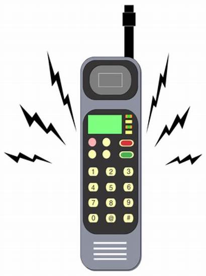 Ringing Phone Cell Clipart Clip Clker Cliparts