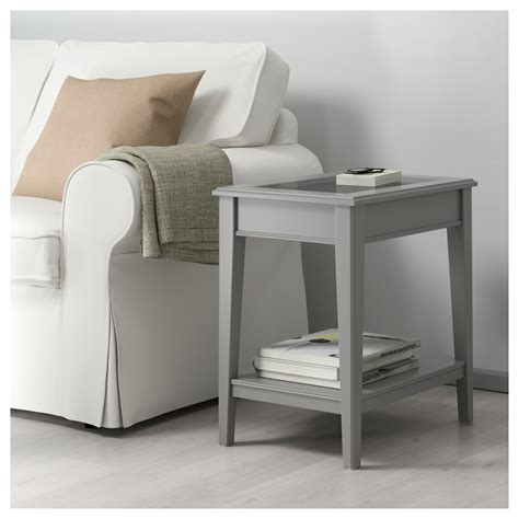 ikea coffee tables and end tables liatorp side table grey glass 57x40 cm ikea