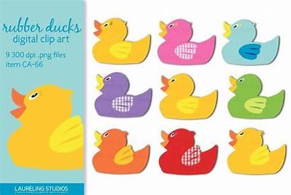 Clip Duck Rubber Illustrations Creative