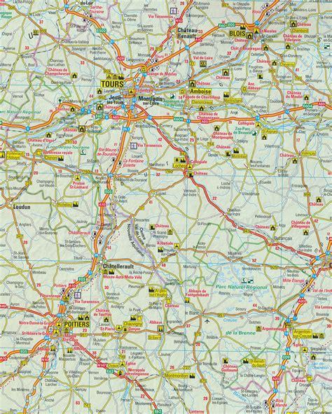 wegenkaart landkaart  frankrijk anwb media  reisboekwinkel de zwerver