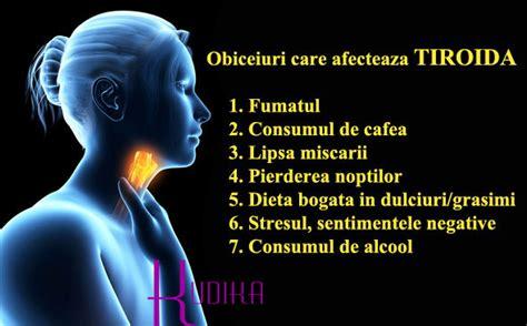Despre tiroida simptome