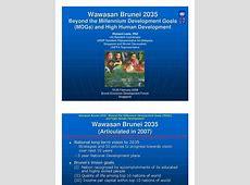Wawasan Brunei 2035 Human Development Index Millennium