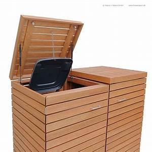 Tonne Aus Holz : friesenbank shop m lltonnenbox astfreies hartholz ge lt f r 2 tonnen 120 240 liter ~ Watch28wear.com Haus und Dekorationen