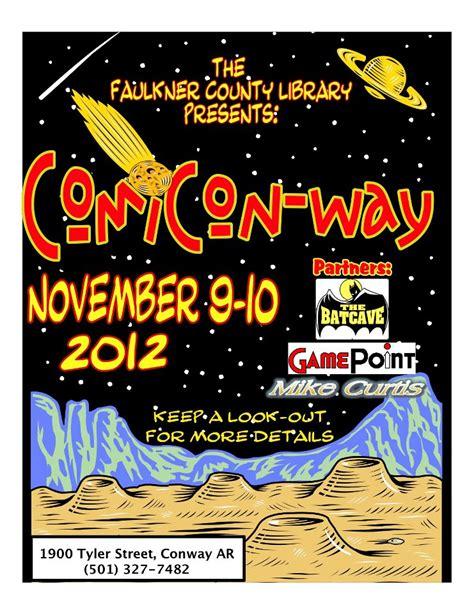 Comiconway Nov 910, 2012 (ar)  Arkansas Geek Central