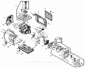 Generac 0068660  Iq2000  Parts Diagram For Full Assembly