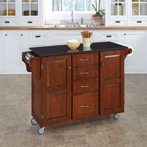 kitchen island cherry home styles nantucket black kitchen island with granite