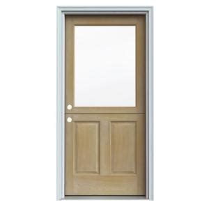 jeld wen unfinished auralast pine solid wood entry - Home Depot Solid Wood Interior Doors