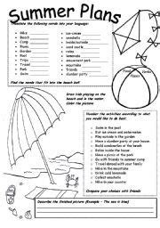 1000+ Images About Summer Themed Lessons On Pinterest  Summer Words, Summer Activities And