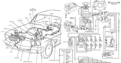 1967 Ford Mustang Wire Harnes Diagram by S 66 Mustang 1966 Mustang Wiring Diagrams