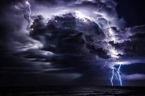 Lightning Storm at Sea | Displaying 15> Images For ...