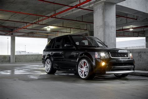 range rover sport supercharged   velos  forged
