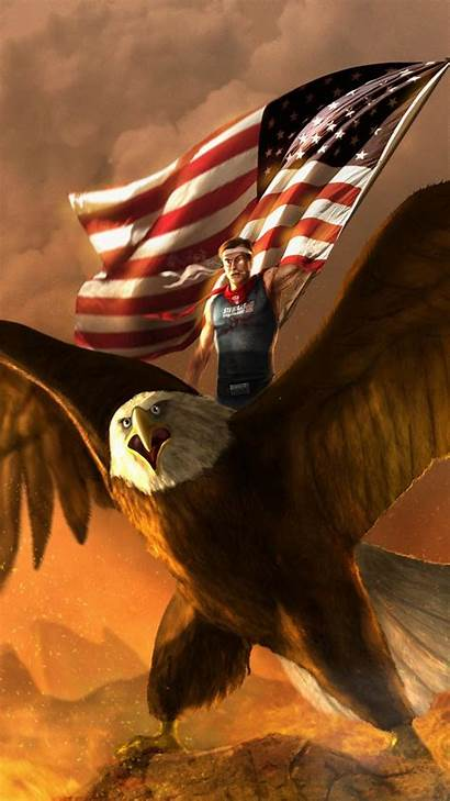 Flag Eagle American Iphone Wallpapers Background Backgrounds