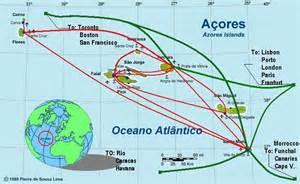 Terceira Azores Islands Map