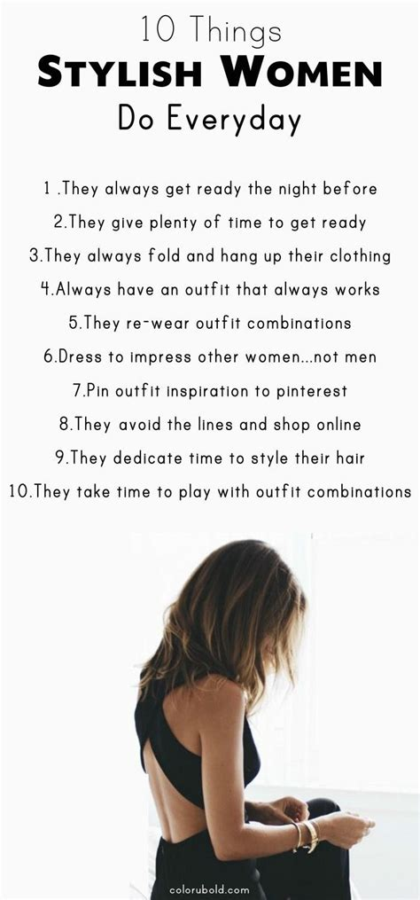 Ways To Always Look Stylish Everyday How To Look Stylish Fashion Tips And Tricks To Help
