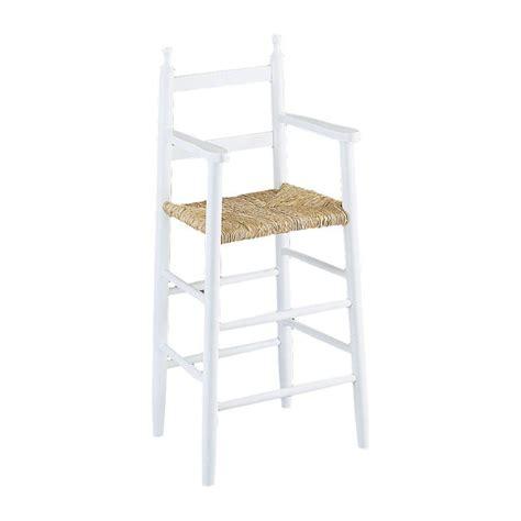 chaises hautes pour cuisine chaise haute enfant bois gaspard 4455