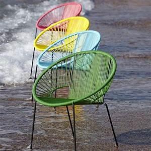 Fauteuil Fil Scoubidou : fauteuil de jardin joalie fils scoubidou et design ~ Teatrodelosmanantiales.com Idées de Décoration
