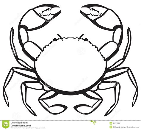 crab template crab clipart black and white clipart panda free clipart images