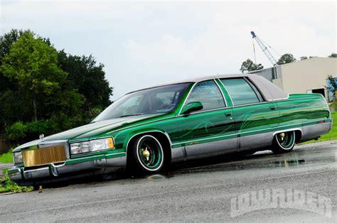 Lowrider Cadillac by 1995 Cadillac Fleetwood Lowrider Magazine