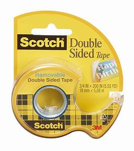 Scotch Double Face : scotch removable double sided tape 689790059889 ebay ~ Melissatoandfro.com Idées de Décoration