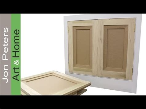 where can i buy cabinet doors how to make hang flat panel cabinet doors youtube