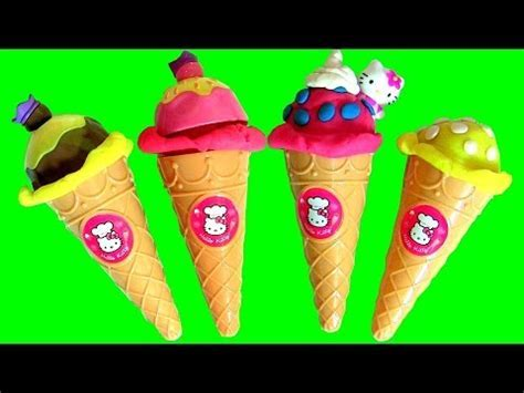 Video clip hay Hello Kitty Ice Cream Shop Toys for kids