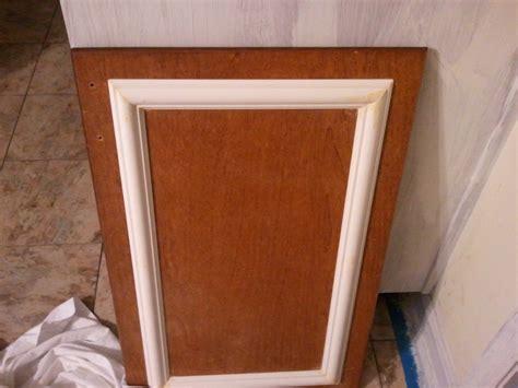 Adding Trim To Cabinet Doors Cabinet Door Refinish Adding