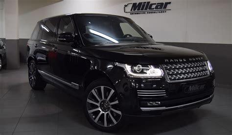 Milcar Automotive Consultancy Range Rover Vogue Hse 2016