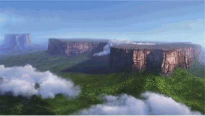 Disney Pixar Falls Paradise Tree Nature Giant