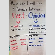 17+ Images About Fact Vs Opinion On Pinterest  Anchor Charts, Graphic Organizers And Facts