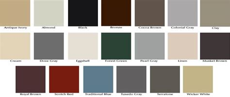 Gutter Color Choices, Options, MD, DC, VA, HomeFix