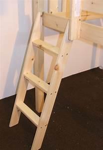 Bunkbed Ladders - Pine or Metal - Bunk Bed Ladders