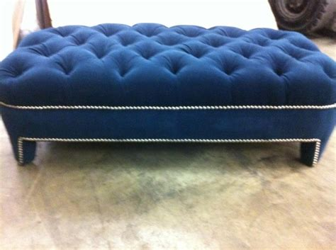 blue ottoman coffee table furniture glamorous blue tufted ottoman bring western
