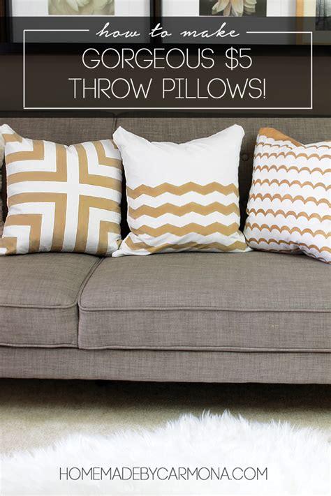 how to make throw pillows diy designer throw pillows as low as 5 to make