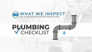 A Home Inspection Guide  Plumbing
