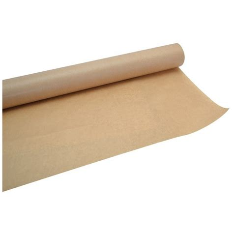 nappe kraft en rouleau pour 50 m 232 tres de table couleur marron