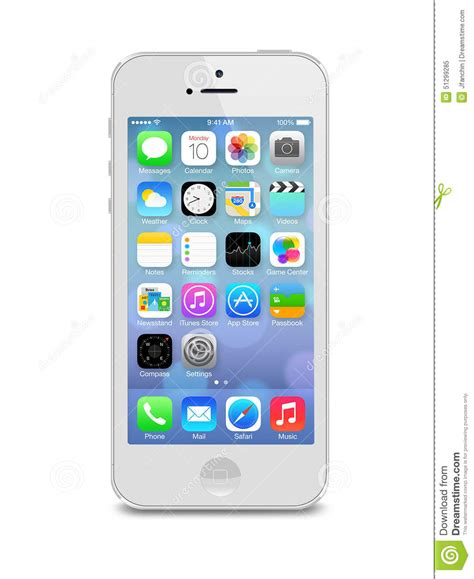 iphone operating system iphone 5s editorial image image 51299285