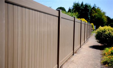 foot vinyl fence sections fence ideas site