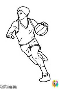 Drawings of Basketball Players Coloring Pages