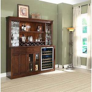 Manchester back bar w hutch distressed walnut home for Home bar furniture china