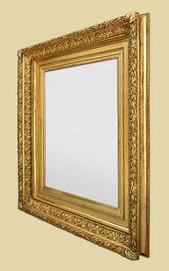 Miroir Doré Ancien : cadre miroir ancien dor l 39 or ~ Teatrodelosmanantiales.com Idées de Décoration